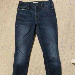 Good American good legs skinny ankle Jean